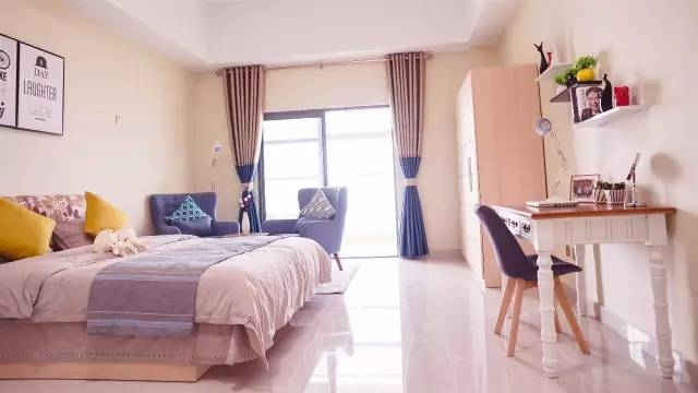 京东高级白领公寓正式建成:拎包入住