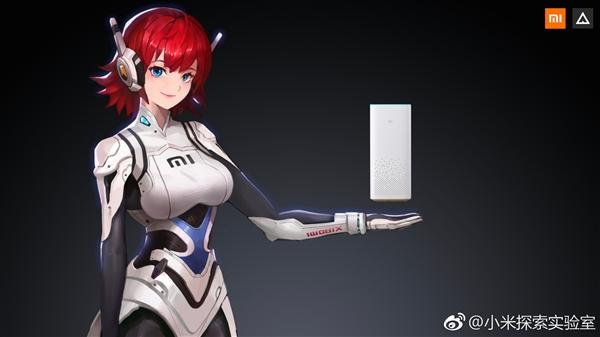 """今天,小米探索实验室公布了小米ai音箱虚拟人物""""小爱同学&图片"""