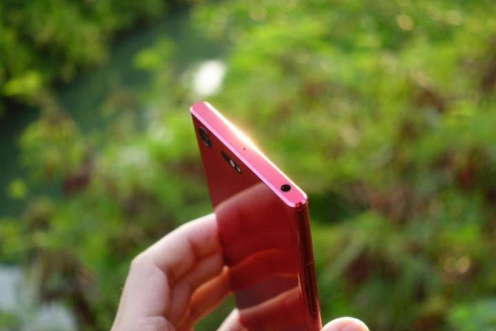索尼xperia xz premium鏡紅版開箱圖賞