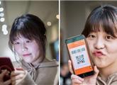中国95后女孩仅靠扫码过一天:日本人看呆