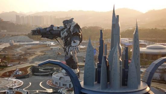 贵阳造价30亿vr主题公园开馆 还有50米高巨型机器人