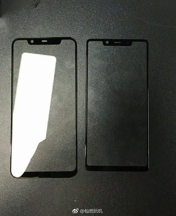 小米两款新机前面板谍照曝光:刘海屏/窄下巴图片