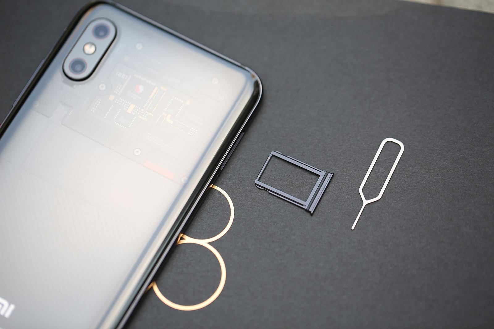 小米8精致找回版开箱图赏:细节如此透明iphone被偷被盗探索iccidv小米图片
