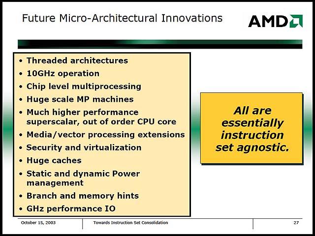 AMD K9处理器10GHz起跳?