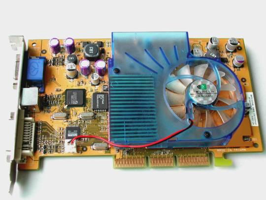 Nvidia nv18-a1 mx-440-8x geforce4 mx 440 64mb ddr 64-bit agp 8x video card gpu 2